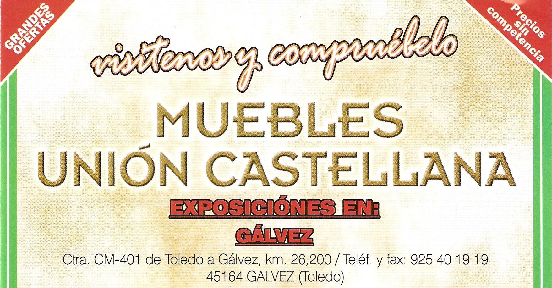 Muebles Uni N Castellana Ayuntamiento De G Lvez # Muebles Union Castellana