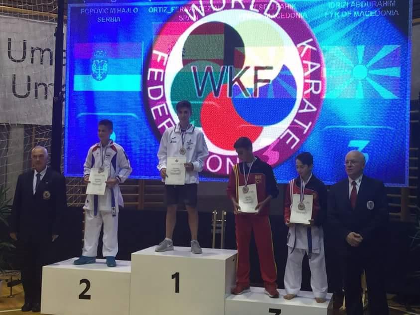 Campeones de Karate de la copa del mundo en Croacia