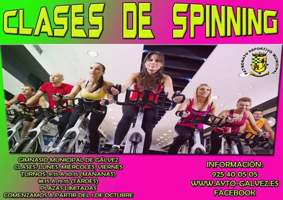 Gimnasio ayuntamiento de g lvez for Clases de spinning