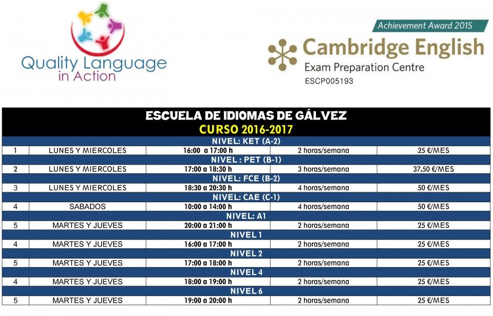 Abierto el plazo de inscripción de la Escuela Municipal de Idiomas
