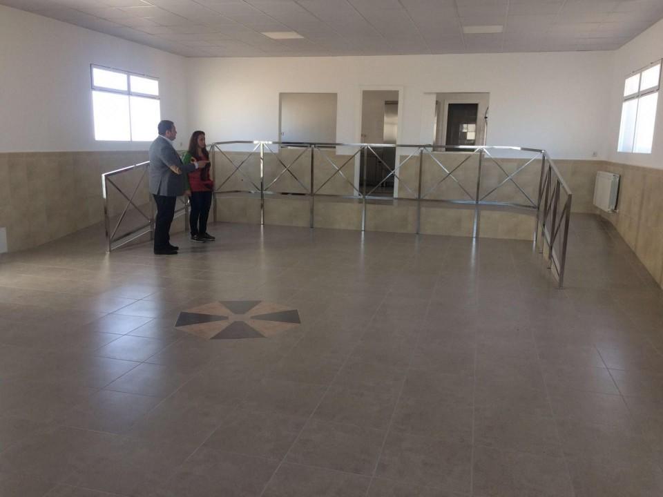 El Ayuntamiento de Gálvez finaliza las obras del comedor escolar del Colegio San Juan de  la Cruz de Primaria