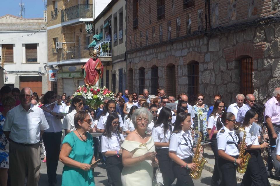 Alcaldes y empresarios de la comarca acompañan a Gálvez en sus Ferias y Fiestas en honor a San Agustín