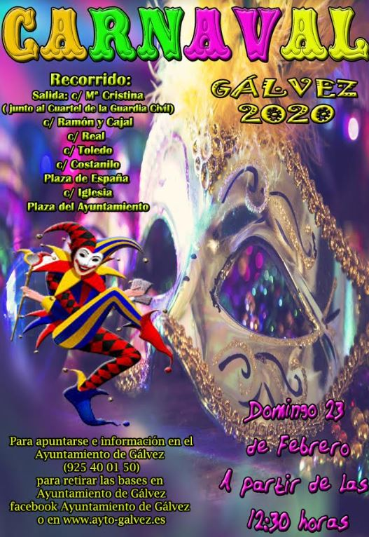 Bases Carnaval Gálvez 2020